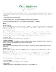 1 Annual Business Meeting Minutes September 24, 2009 ... - ndrpa
