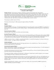 1 Quarterly Business Meeting Minutes December 4, 2008 ... - ndrpa