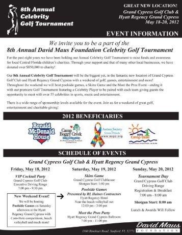 to download a 2012 Celebrity Golf - David Maus Golf
