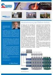 Ausgabe 2 2011 - Gießerei-Institut der RWTH Aachen