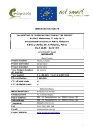 3rd Coordinating Committee Meeting 27/07/2011