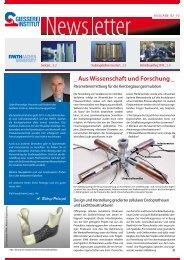 Ausgabe 2 2010 - Gießerei-Institut der RWTH Aachen