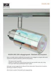 VISION LINE VISION LINE 230V utbyggingssett ... - Elektro Armatur