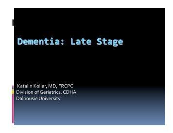 Dementia - Canadian Dementia Resource and Knowledge Exchange
