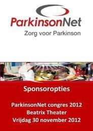 ParkinsonNet congres 2012 Zorg voor Parkinson
