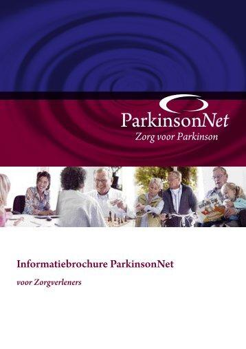 Informatiebrochure ParkinsonNet