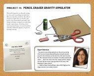 project #1: pencil eraser gravity simulator - Kids Can Press