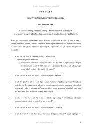 Prawo zamówień publicznych - Project Finance Poland