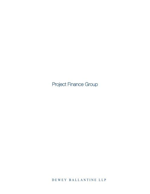 Project Finance Group - Project Finance Poland