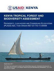 kenya tropical forest and biodiversity assessment - Bruce Byers ...