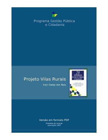 Projeto Vilas Rurais