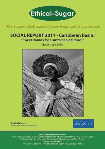 SOCIAL REPORT 2011 - Caribbean basin: - Sucre Ethique