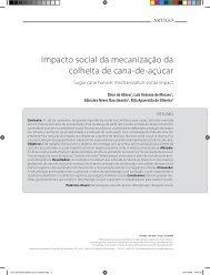 Impacto social da mecanização da colheita de cana ... - Sucre Ethique