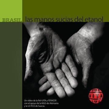 """Brasil - """"las manos sucias del etanol"""" - Sucre Ethique"""