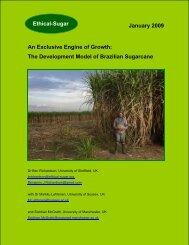 The Development Model of Brazilian Sugarcane - Sucre Ethique