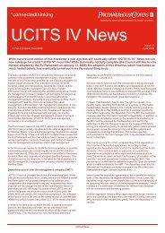 UCITS IV News - PwC