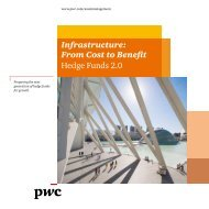 Infrastructure: From Cost to Benefit Hedge Funds 2.0