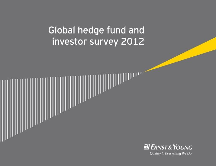 hedge fund introduction Funds of hedge funds - introduction in 2014, the fund of hedge funds sector experienced its fi rst year of net growth, in terms of aum, since 2011.