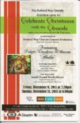 Celebrate Christmas with the Chorale - Federal Way Chorale