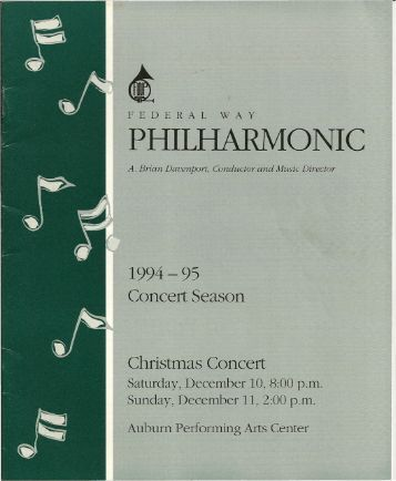 PHILHARMONIC - Federal Way Chorale