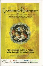 Christmas Masterpiece - Federal Way Chorale