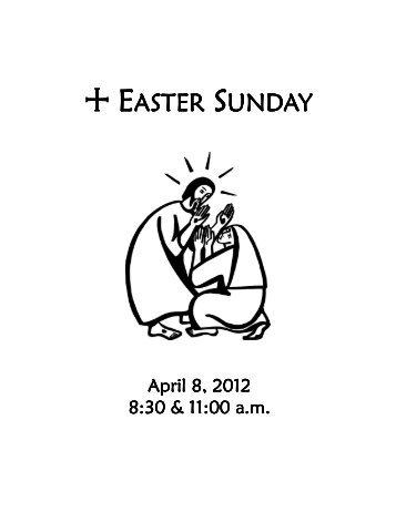 Worship Bulletin for Easter Sunday, 04-08-12 - Phinney Ridge ...