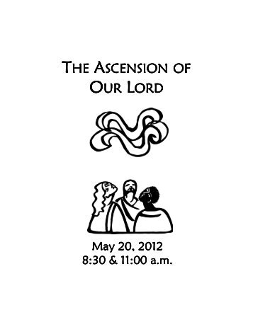 Weekly Bulletin for May 20, 2012 [pdf] - Phinney Ridge Lutheran ...
