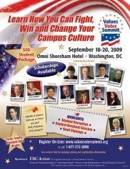 Learn How You Can Fight, Win and Change Your ... - FRC Action
