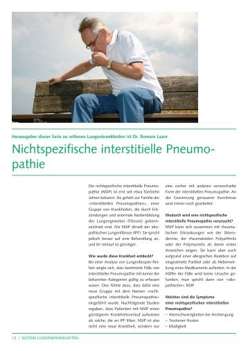 nichtspezifischen interstitiellen Pneumopathie - SIOLD