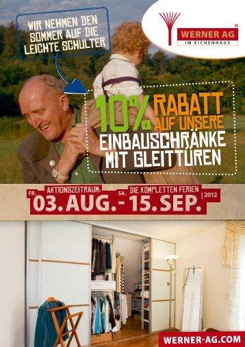 Zeitungsbeileger - Der WERNER AG Blog