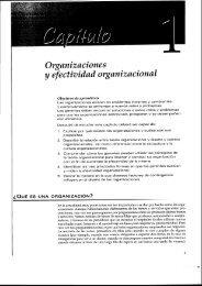 Organizaciones y - Desarrollo Organizacional