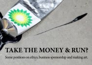 TAKE THE MONEY & RUN? - Platform