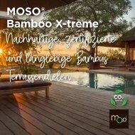 MOSO bamboo X-treme Terrassendielen