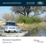 Botswana Expedition - World by Design
