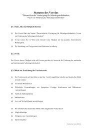 Statuten des Vereins - Arbitration Austria