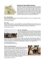 Okavango & Chobe Wildlife Adventure - Wild about Africa