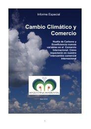 Cambio Climático y Comercio
