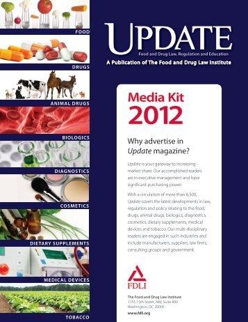 Media Kit - Food and Drug Law Institute