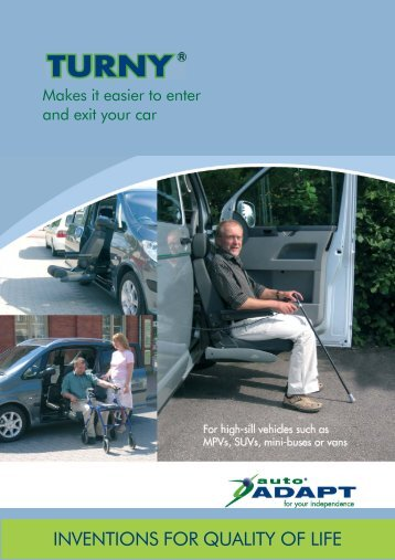 Autoadapt Turny HD Brochure - Maun Motors