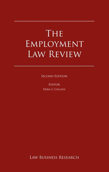The Employment Law Review - Bristows