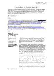 Report of Recent EPO Decisions – February 2010 EPO ... - Bristows