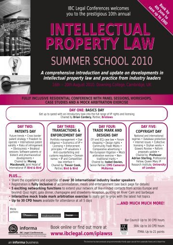 intellectual property law intellectual property law - Bristows