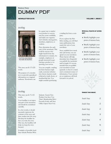 DUMMY PDF