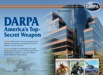 DARPA -- America's Top-Secret Weapon - ZMAN Magazine
