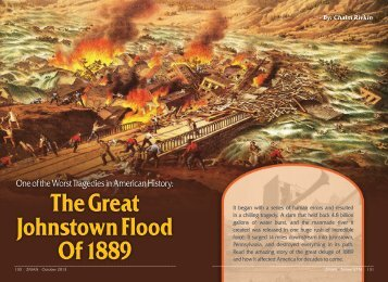 The Great Johnstown Flood Of 1889 - ZMAN Magazine