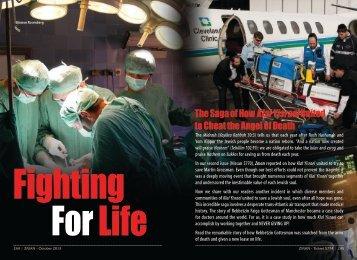Fighting For Life - ZMAN Magazine