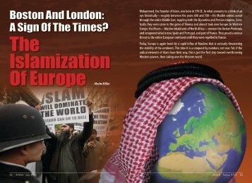 The Islamization of Europe - ZMAN Magazine