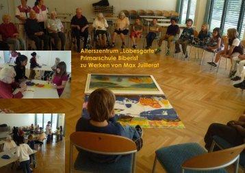 Kunstkontakt in der Schule - Christina Studer