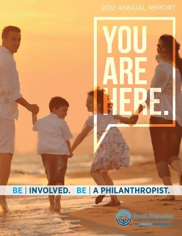 2012 Annual Report - The Jewish Federation of Palm Beach County