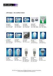 LED-lampan – för en hållbar framtid - Led-led.se
